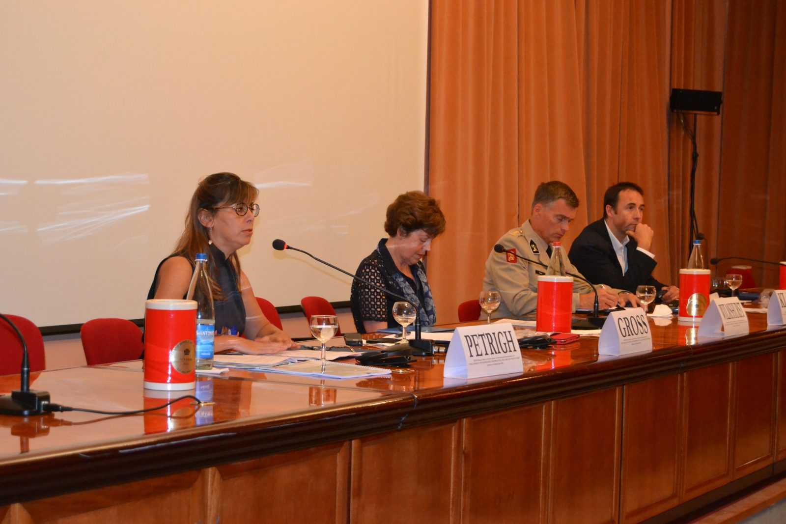 Roundtable in Sanremo's Institute of International Humanitarian Law