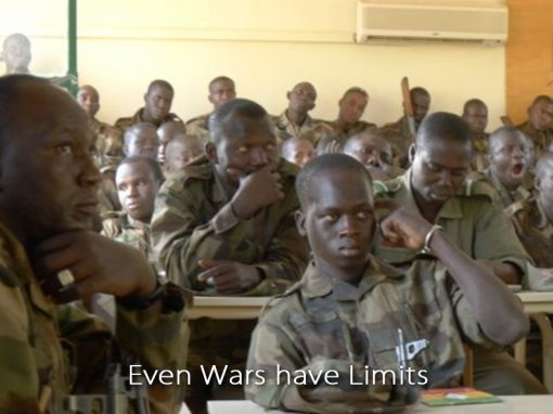 We train and advise armed forces and non-state armed groups